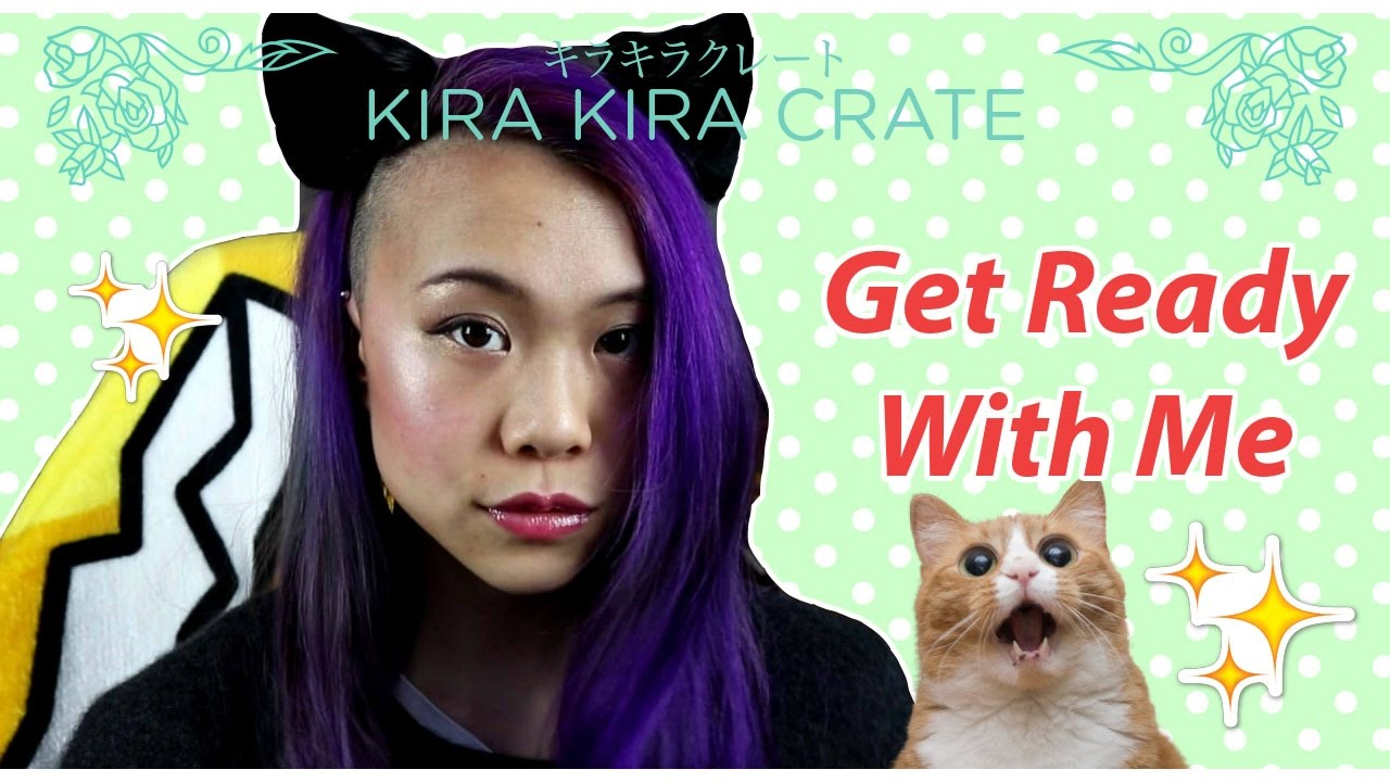Get Ready With Me! Kira Kira Crate Edition - YouTube
