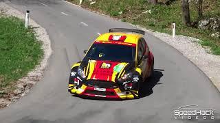8. Rally Vipavska dolina 2018   Highlights & crash
