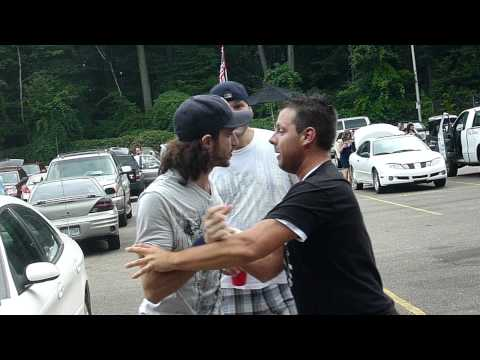 A Near Fight in the DTE Energy Music Theatre Parking Lot