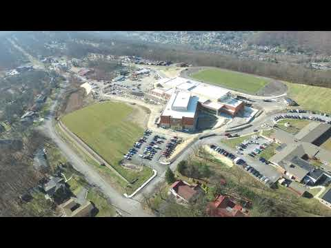 DJI Inspire 1 Drone Allegany High And Bishop Walsh Schools in Cumberland, Maryland 4k