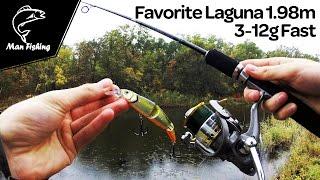Спиннинг на щуку, судака, окуняFavorite Laguna 1.98m 3-12g Fast