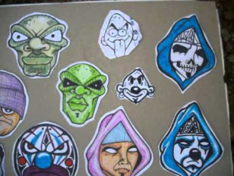 Cholowiz13 Graffiti Stickers Character for Trading - YouTube