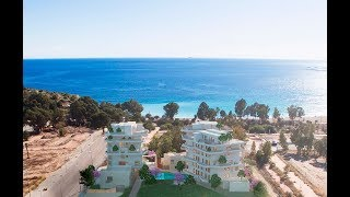 Apartments on the first beachline in Villajoyosa