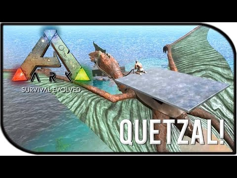 NEW QUETZAL, QUETZAL BASE BUILDING / AIRBASE, ADVANCED SNIPER! (ARK PATCH/UPDATE 214 GAMEPLAY)
