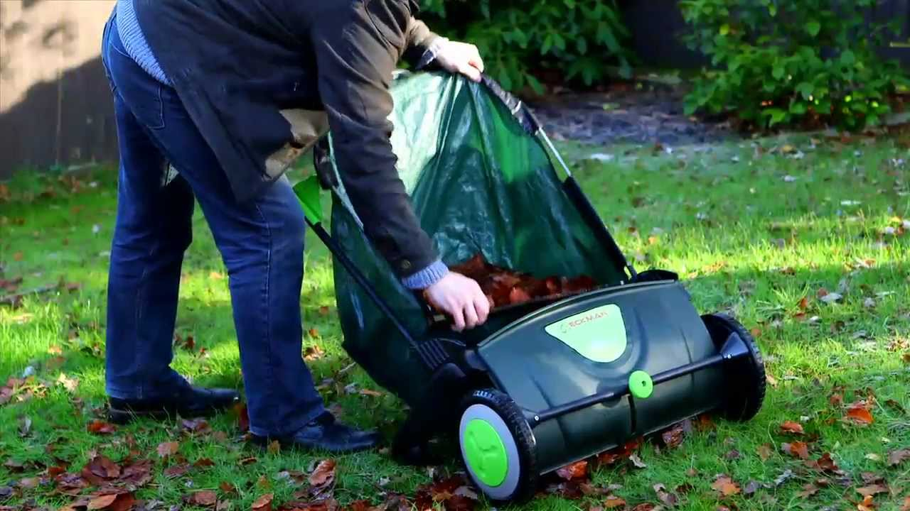 Eckman 117 Litre Push Leaf Sweeper