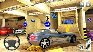 Multi Storey Car Drive - Shopping Mall Parking Mania - Android Gameplay FHD