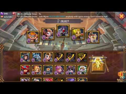 Lords Mobile, Ranking In The Hell Event, Watcher, D~J, K23