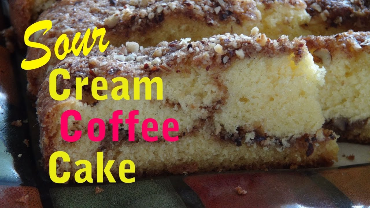 Why Sour Cream In Coffee Cake