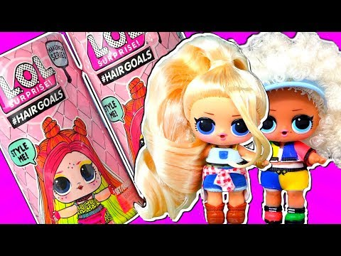 Новые куклы LOL HAIRGOALS SERIES 5 WAVE 2 выиграли конкурс красоты! Мультик про куклы лол сюрприз!