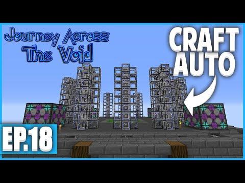 DES CRAFTS AUTOMATIQUES ! | Minecraft Moddé - Journey Across The Void | Ep# 18