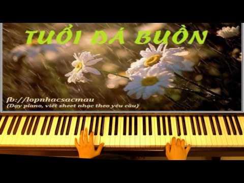 Tuổi Đá Buồn (Trịnh Công Sơn) - piano solo - Arranged by Linh Nhi