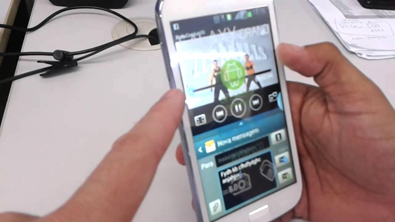 Обзор Samsung Galaxy S3 Duos - YouTube