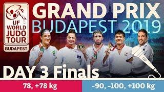 Gambar cover Judo Grand-Prix Budapest 2019: Day 3 - Final Block