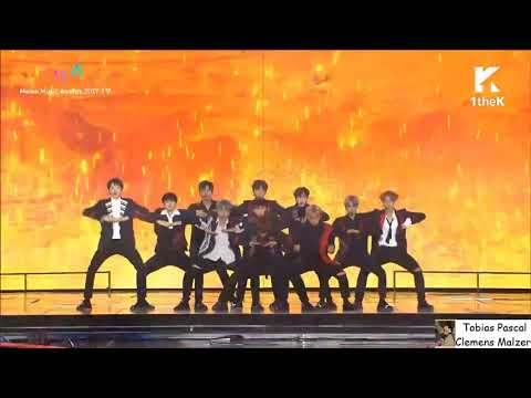 Free Download Wanna One Performs Burn It Up [melon Music Awards 2017] Mp3 dan Mp4