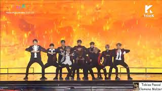 Wanna One performs Burn It Up Melon Music Awards