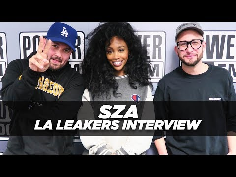 SZA Speaks On 'CTRL' & Her Love For Music | The LA Leakers Interview