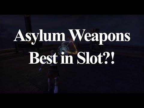 Asylum Weapons BEST IN SLOT?!