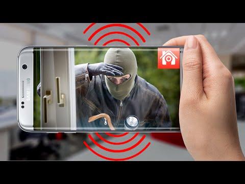 Dùng điện thoại làm CAMERA chống trộm - Phần mềm Athome