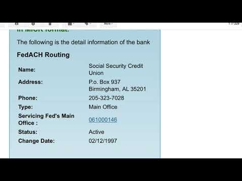 social-security-credit-union-routing-fedwire-disabled-ach-working