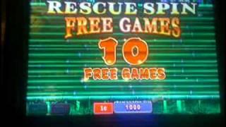 GIANT PANDA slot machine RESCUE SPIN bonus