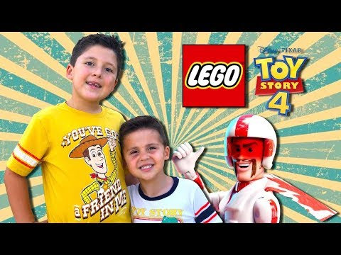 🔥 LEGO Toy Story Toys Duke Caboom's Stunt Show | LEGO Build and Review