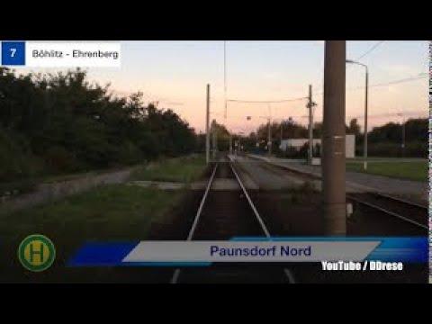 Lvb Straßenbahn Leipzig Linie 7 Nach Böhlitz Ehrenberg Youtube