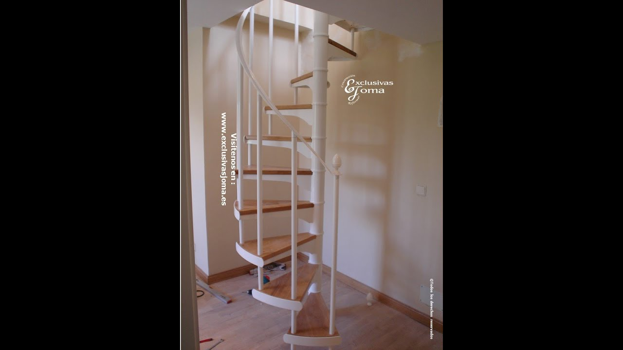 Escalera de caracol en chalet de soto vi uelas reforma - Escalera para buhardilla ...