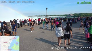 Walking Tour of Niagara Falls Resort Ontario Canada 4K