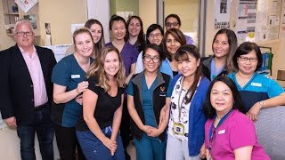 Above and Beyond Awards 2018 - Medicine Unit 5 South and 5 North, Royal Columbian Hospital