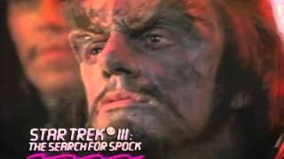 Star Trek 3: The Search For Spock Trailer 1984