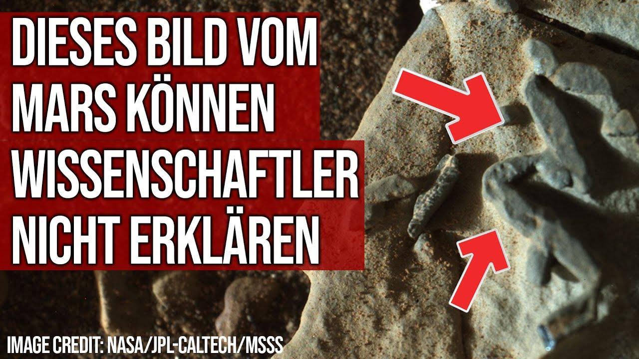 Dieses Bild vom Mars können Wissenschaftler nicht erklären