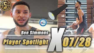 Ben Simmons Open Run Highlights *CRAZY*
