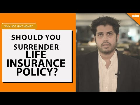 Why Not Mint Money | Should you surrender life insurance ...