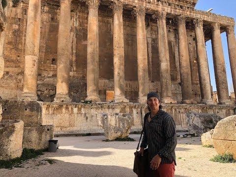 Baalbek - Temple of Jupiter - Great Courtyard - Hexagonal Courtyard - Propylaea - Ruins Walkthrough