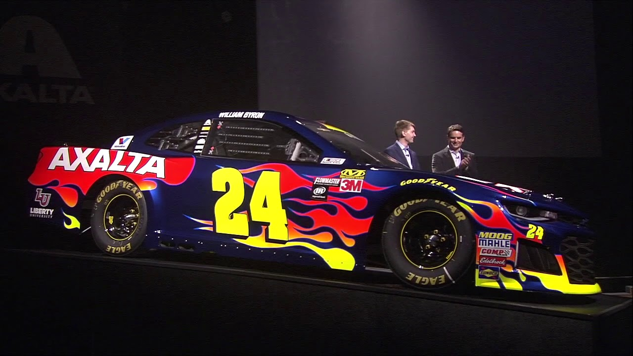 Familiar Look For The No 24 Of William Byron In 2018