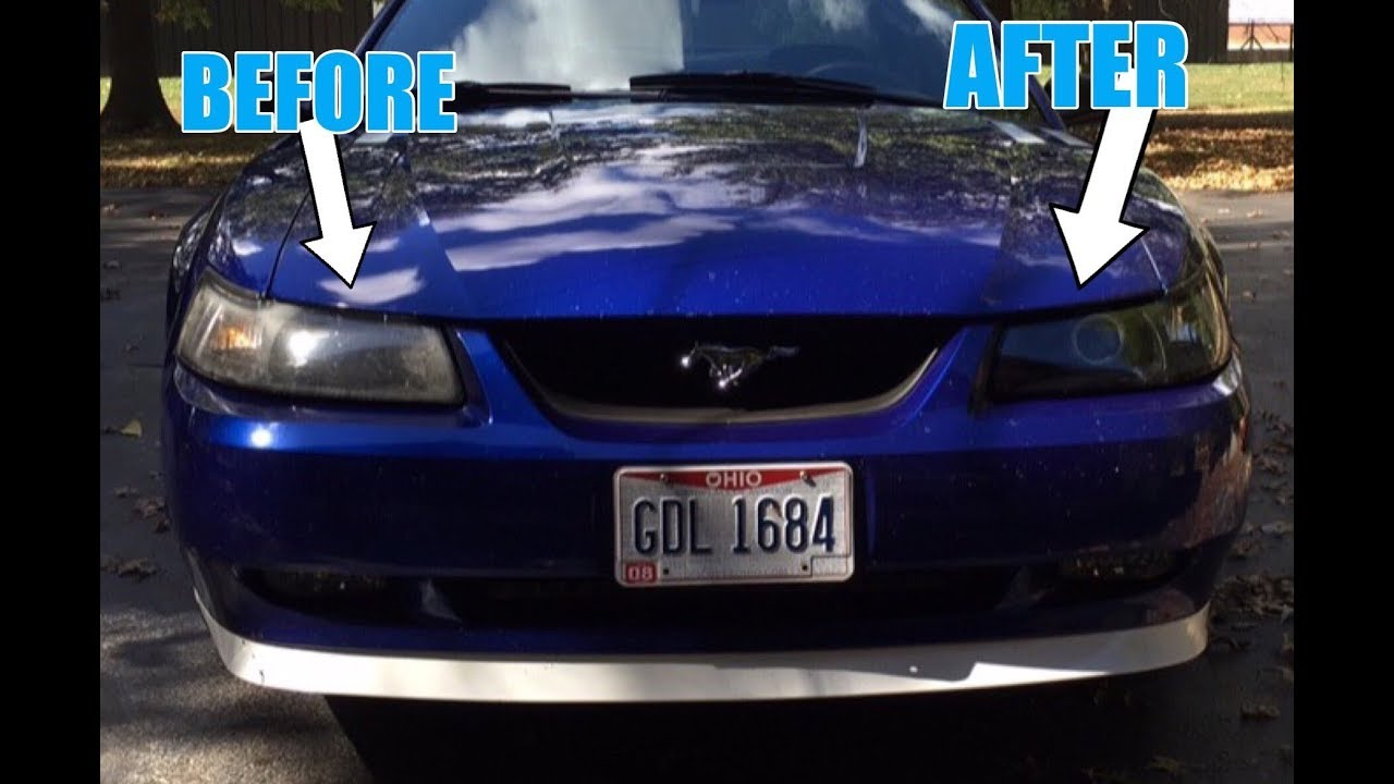 retrofitting projector headlights into a 99 04 mustang youtube retrofitting projector headlights into a 99 04 mustang