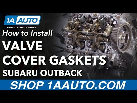 How to Replace Valve Cover Gaskets 01-09 Subaru Outback