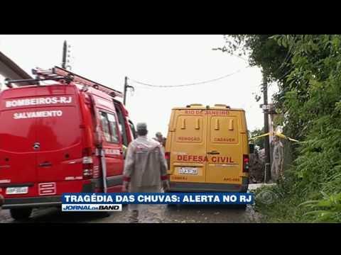 Duas pessoas morrem vítimas da chuva em Petrópolis