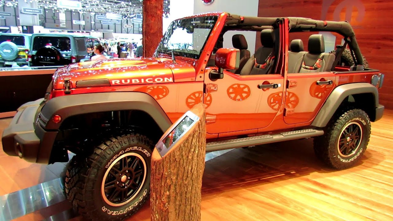 2014 Jeep Wrangler Unlimited CRD Diesel   Exterior And Interior Walkaround    2014 Geneva Motor Show