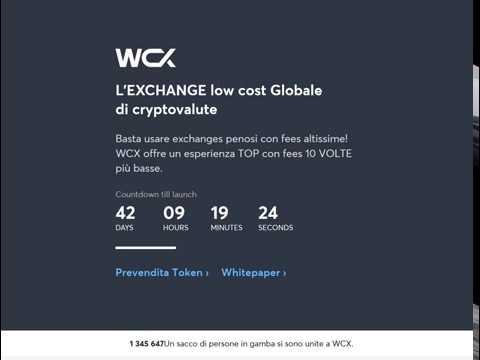 WCX ICO - 50 Free Tokens