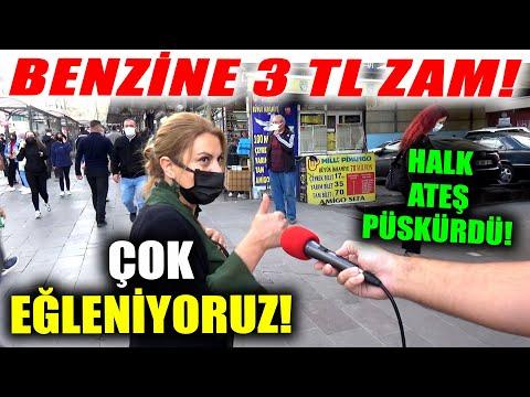 BENZİNE 3 TL ZAM Söylentisi Vatandaşın Canına Tak Ettirdi!