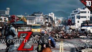 WORLD WAR Z #10 | LLEGAMOS A TOKIO | Gameplay Español