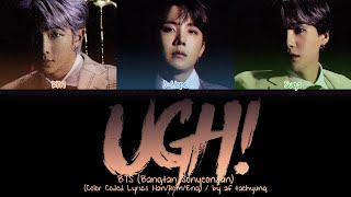 Download lagu BTS (Rap Line) - UGH! (Color Coded Lyrics Han/Rom/Eng)