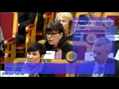 10 Britt Lundberg, talman, Ålands lagting, replik