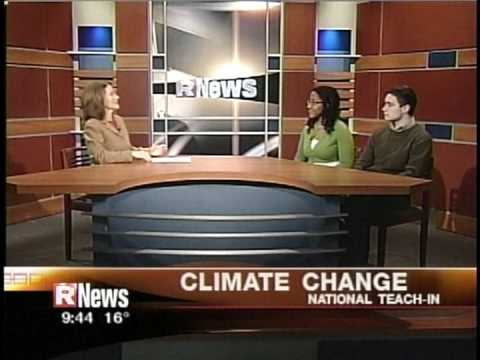 RIT on TV News: Teach-In on Global Warming Preview