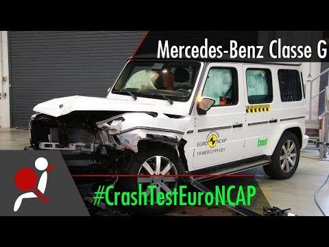 Mercedes-Benz Classe G - 2019 - Crash Test Euro NCAP
