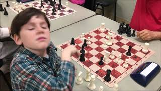 The Coolest Checkmate In The World! 8 Year Old Golan vs USCF Senior Life Master Mick