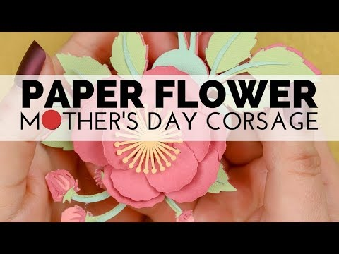 How to Assemble a Paper Flower Corsage