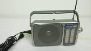 Panasonic RF-2400 Radio Portable AM/FM
