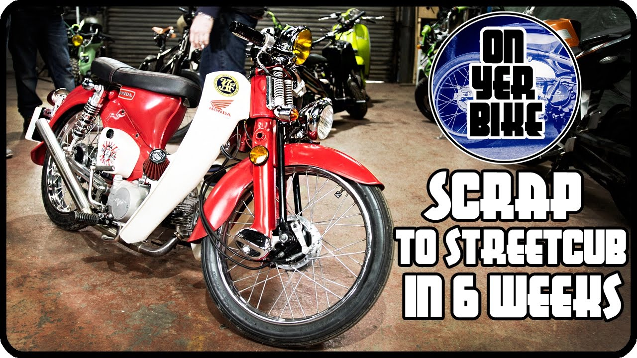 From Scrap To StreetCub In Six Weeks!